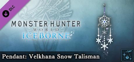 Monster Hunter World: Iceborne - Pendant: Velkhana Snow Talisman