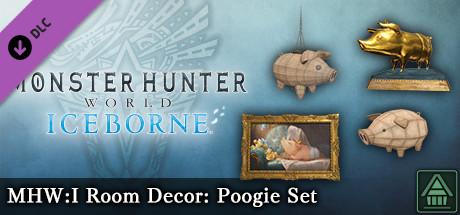 Monster Hunter World: Iceborne – Украшение для комнаты MHW:I: набор хрюшек