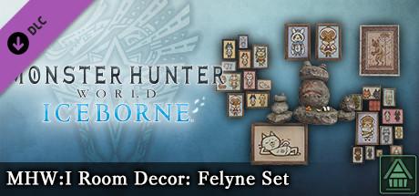 Monster Hunter World: Iceborne - MHW:I Room Decor: Felyne Set