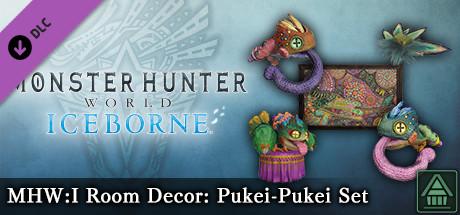 Monster Hunter World: Iceborne – Украшение для комнаты MHW:I: набор поки–поки