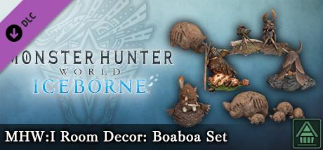 Monster Hunter World: Iceborne - MHW:I Room Decor: Boaboa Set