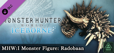 Monster Hunter World: Iceborne – Фигурка чудовища MHW:I: радобаан