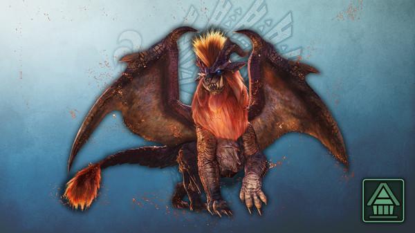 Скриншот №1 к Monster Hunter World Iceborne - Фигурка чудовища MHWI теостра