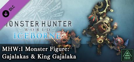 Monster Hunter World: Iceborne - MHW:I Monster Figure: Gajalakas & King Gajalaka