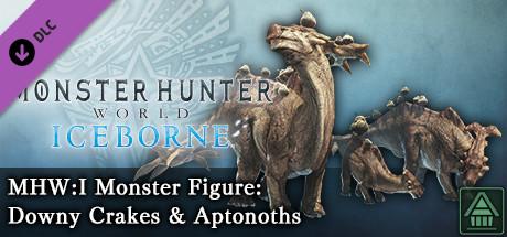 Monster Hunter World: Iceborne - MHW:I Monster Figure: Downy Crakes & Aptonoths