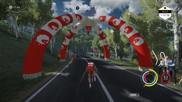 Capture d'écran n°1 du Jeu Tour de France 2020