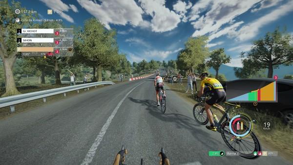 Capture d'écran n°2 du Jeu Tour de France 2020
