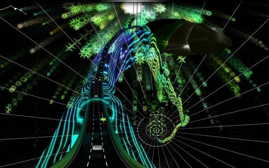 Скриншот из Audiosurf