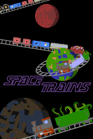 Space Trains poster image on Steam Backlog