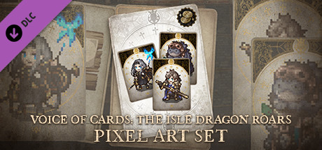Voice of Cards: The Isle Dragon Roars Pixel Art Set
