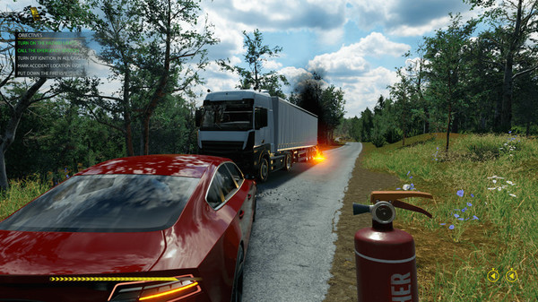Скриншот из Accident: The Pilot
