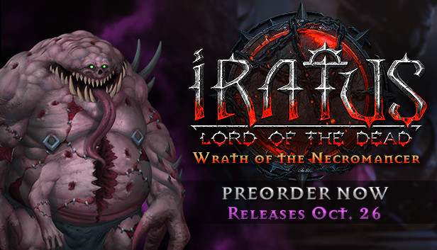Предзаказ Iratus: Wrath of the Necromancer