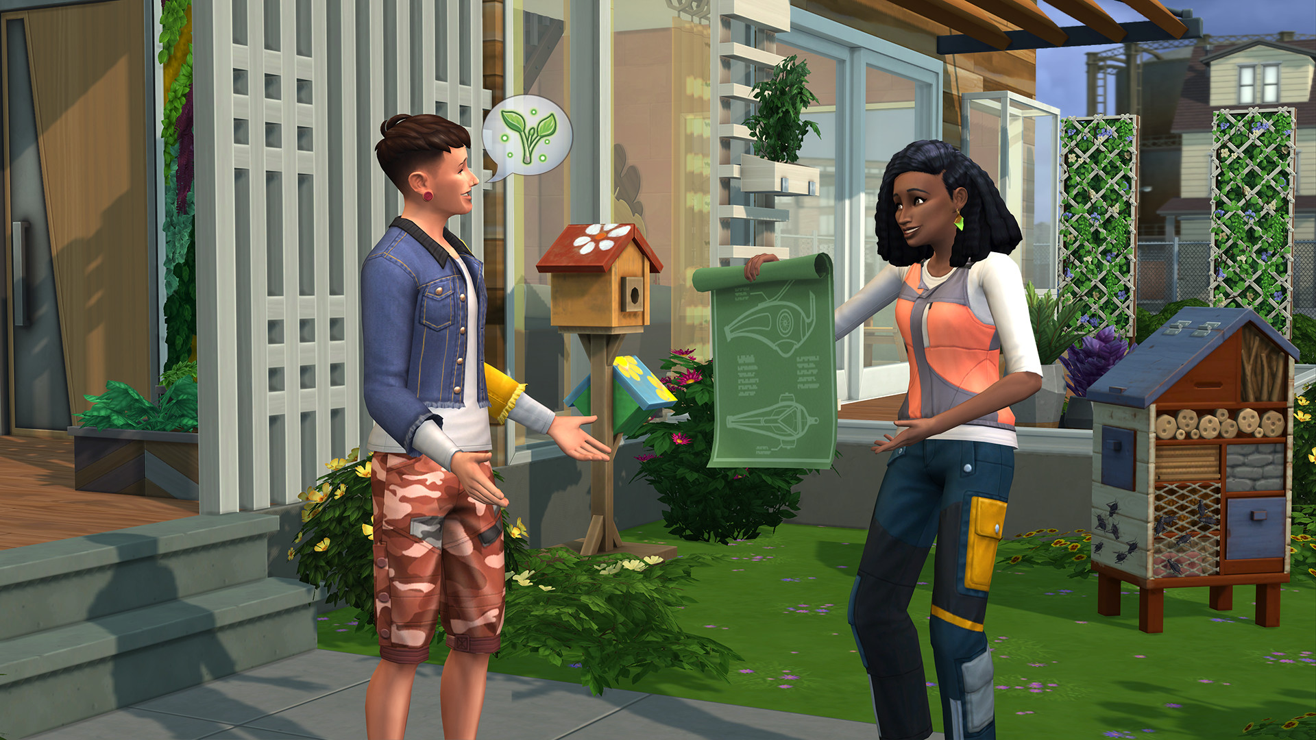 The Sims 4 Eco Lifestyle Screenshot 1