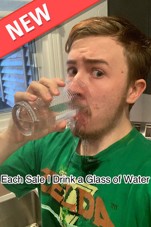 Each Sale I Drink a Glass of Water : The Game poster image on Steam Backlog