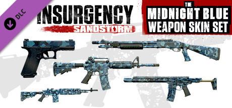 Insurgency: Sandstorm – Midnight Blue Weapon Skin Set
