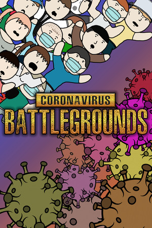 CORONAVIRUS BATTLEGROUNDS: Covid-19 News poster image on Steam Backlog