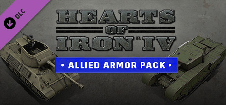 Hearts of Iron IV Allied Armor [PT-BR] Capa