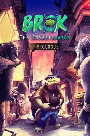BROK the InvestiGator - Prologue poster image on Steam Backlog