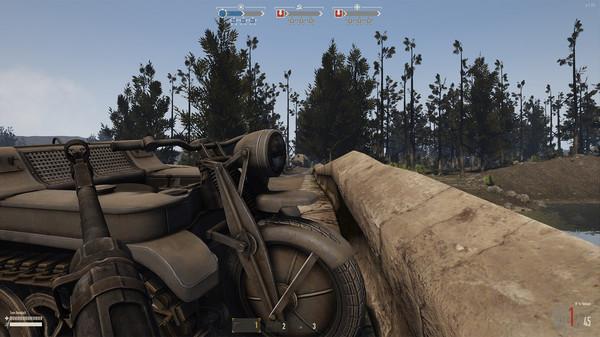 скриншот Heroes & Generals - US Light Tanker 1