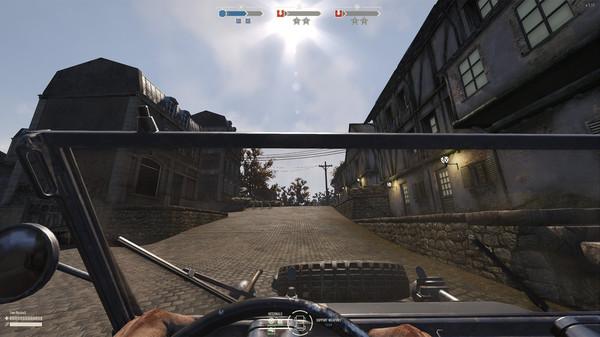 скриншот Heroes & Generals - US Light Tanker 4