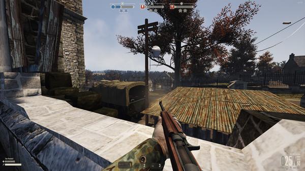 скриншот Heroes & Generals - SU Light Tanker 1