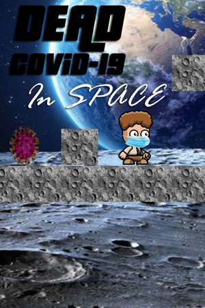 Dead COVID-19 in space poster image on Steam Backlog