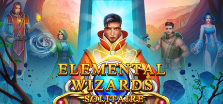 Solitaire. Elemental Wizards