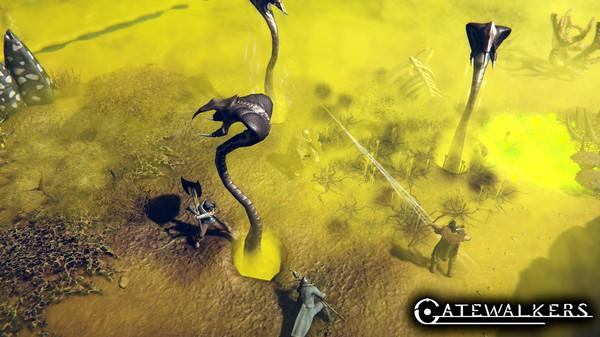 Gatewalkers Steam alpha testing