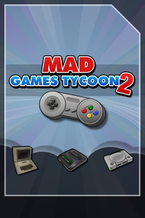 Mad Games Tycoon 2 poster image on Steam Backlog
