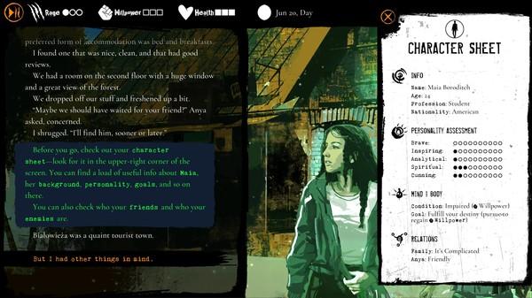 Capture d'écran n°3 du Jeu Werewolf: The Apocalypse — Heart of the Forest