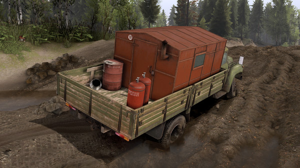Скриншот №4 к Spintires® - Vehicle Pack 01 DLC