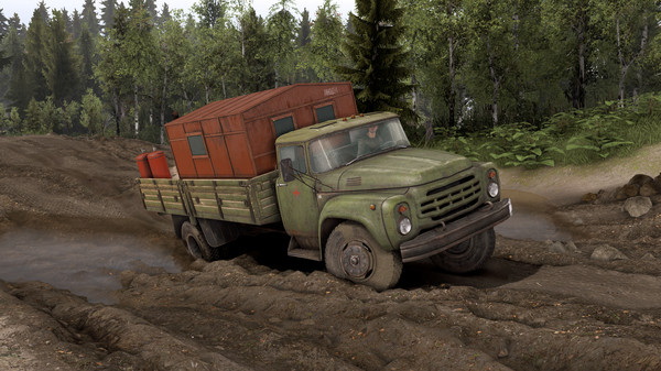 Скриншот №7 к Spintires® - Vehicle Pack 01 DLC