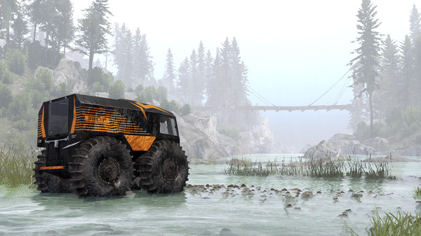 Скриншот №8 к Spintires® - SHERP® Ural Challenge DLC