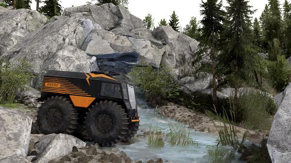 Скриншот №3 к Spintires® - SHERP® Ural Challenge DLC