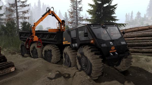 Скриншот №10 к Spintires® - SHERP® Ural Challenge DLC