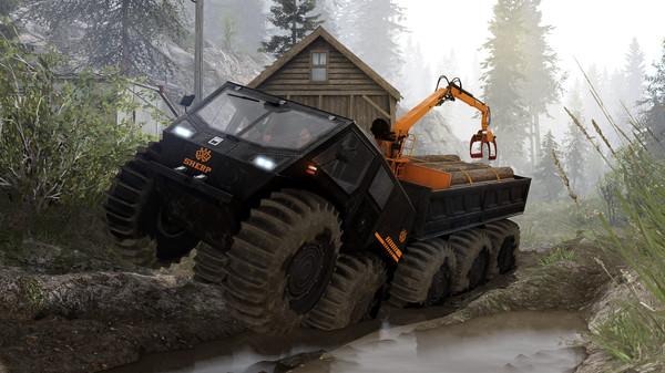 Скриншот №5 к Spintires® - SHERP® Ural Challenge DLC