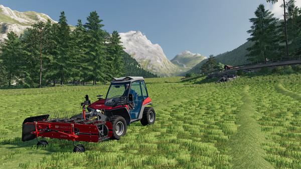 Capture d'écran n°5 du Jeu Farming Simulator 19 - Extension Alpine Farming