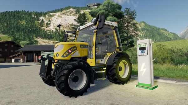 Capture d'écran n°2 du Jeu Farming Simulator 19 - Extension Alpine Farming