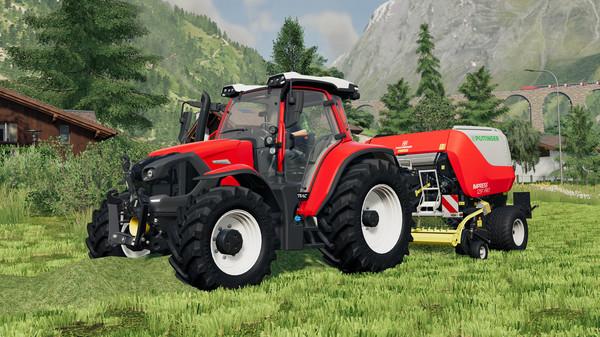 Capture d'écran n°1 du Jeu Farming Simulator 19 - Extension Alpine Farming