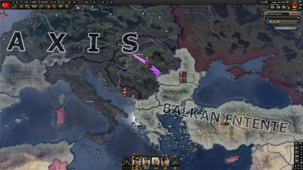 Скриншот №6 к Hearts of Iron IV Battle for the Bosporus