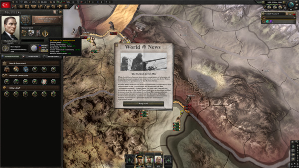 Скриншот №5 к Hearts of Iron IV Battle for the Bosporus