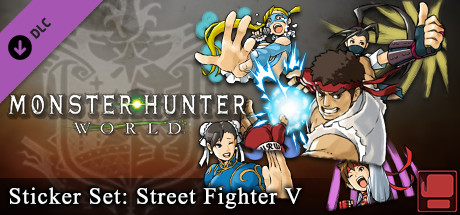 Monster Hunter: World – Набор стикеров: Street Fighter V