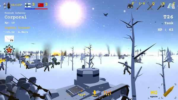 Скриншот из Winter War 1939