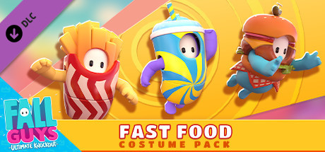 Fall Guys – Fast Food Costume Pack