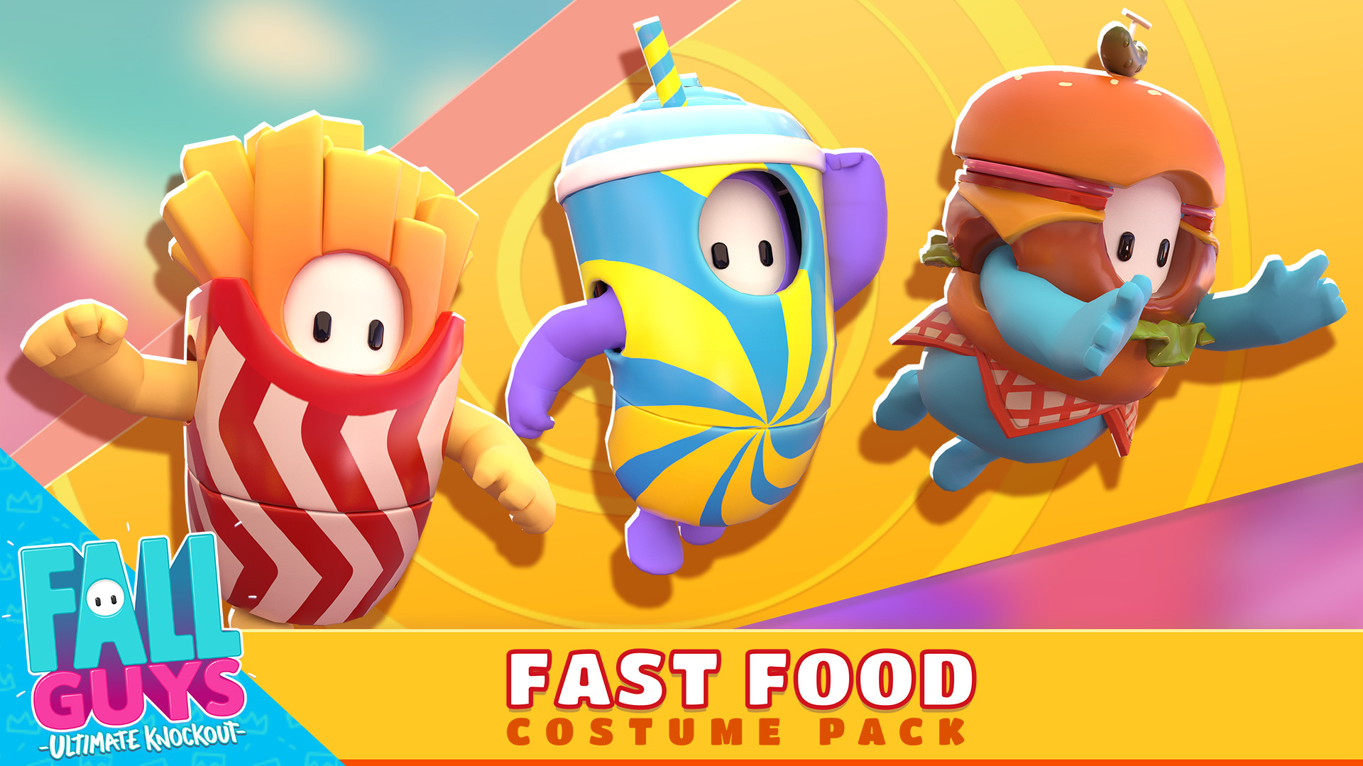 Fall Guys - Fast Food Costume Pack en Steam