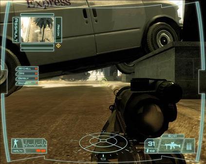 Скриншот из Tom Clancy's Ghost Recon: Advanced Warfighter