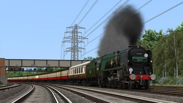 скриншот Train Simulator: Merchant Navy Class 35028 'Clan Line' Steam Loco Add-On 0