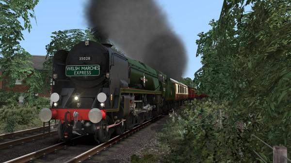 скриншот Train Simulator: Merchant Navy Class 35028 'Clan Line' Steam Loco Add-On 3