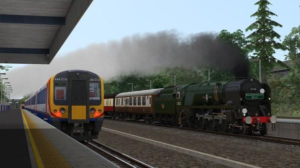 скриншот Train Simulator: Merchant Navy Class 35028 'Clan Line' Steam Loco Add-On 4