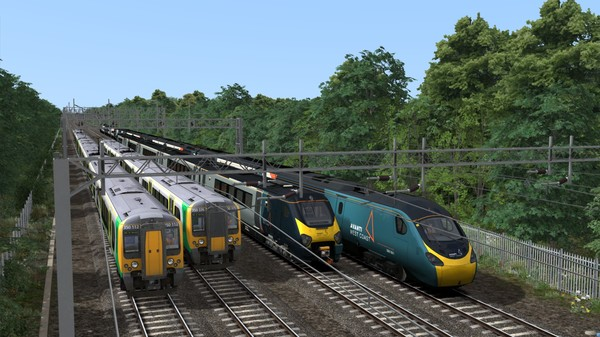 скриншот Train Simulator: WCML South: London Euston - Birmingham Route Add-On 4
